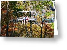 Scenic Ride Greeting Card