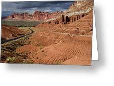 Scenic Road 1 Greeting Card