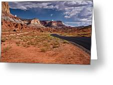 Scenic Road 2 Greeting Card