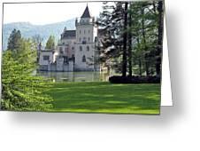 Schloss Anif Greeting Card