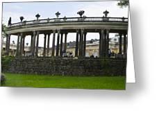 Schloss Sanssouci Gardens Greeting Card