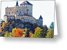 Schloss Tarasp Switzerland Greeting Card
