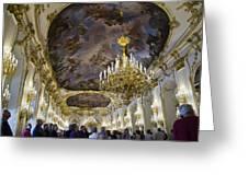 Schonbrunn Palace - Vienna Greeting Card