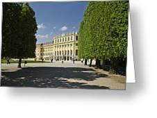 Schonbrunn Palace Vienna Austria Greeting Card