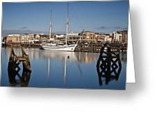 Schooner 7 Greeting Card