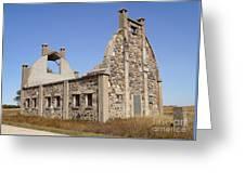 Schott Stone Barn Greeting Card