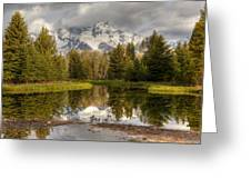 Schwabacher's Landing Greeting Card by Charles Warren