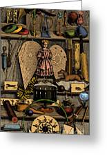 Science In The Nursery, Frontispiece Greeting Card