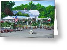 Scimone's Farm Stand Greeting Card