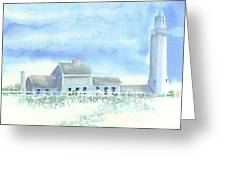 Scituate Lighthouse Greeting Card