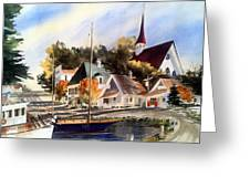 Scotia Princess ---annapolis N.s. Greeting Card by Don F  Bradford