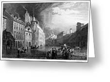 Scotland: Aberdeen, 1833 Greeting Card