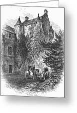 Scotland: Castle Greeting Card