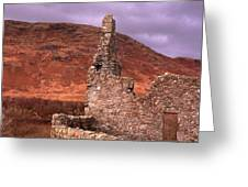 Scotland Castle Greeting Card