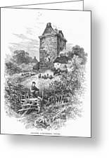 Scotland: Gilnockie Tower Greeting Card