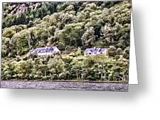 Scotland Homes Greeting Card