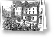 Scotland: Perth, 1848 Greeting Card