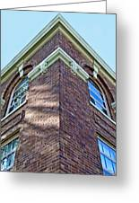 Scott County Courthouse Corner Detail Greeting Card