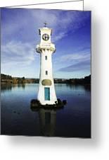 Scott Memorial Lighthouse 2 Greeting Card
