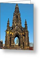 Scott Monument Greeting Card