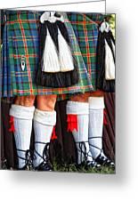 Scottish Festival 4 Greeting Card