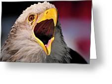 Screaming Eagle I Greeting Card