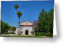 Scripps College Grounds Greeting Card