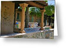 Scripps College Walls Greeting Card