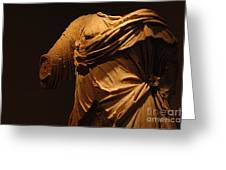 Sculpture Olympia 1 Greeting Card by Bob Christopher