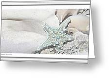 Sea Foam In Pastels Greeting Card