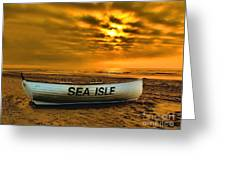 Sea Isle Dawn Greeting Card