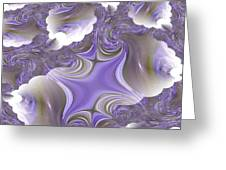 Sea Of Lavender Greeting Card