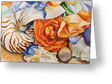 Sea Petals Greeting Card