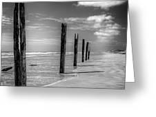 Sea Sand And Steel Greeting Card