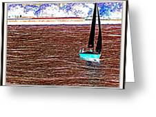 Sea Scape-9 Greeting Card