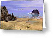 Sea Shrine Greeting Card