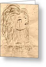 Sea Woman 2 Greeting Card