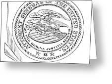 Seal: Attorney General Greeting Card