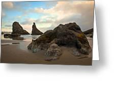Seal Rock Oregon Greeting Card