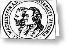 Seal: Washington & Lee Greeting Card