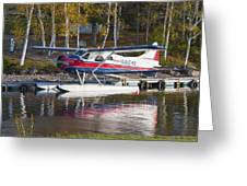 Seaplane On Moosehead Lake In Maine Canvas Photo Poster Print Greeting Card