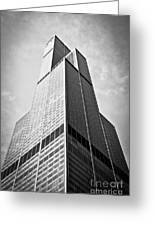 Sears-willis Tower Chicago Greeting Card