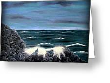 Seascape1 Greeting Card
