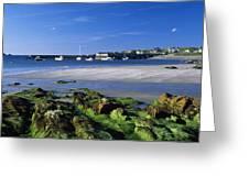Seashore, Portnablagh, County Donegal Greeting Card