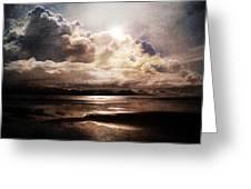 Seaside Cloudscape Greeting Card