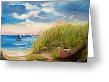 Seaside Memories Greeting Card by Joni McPherson