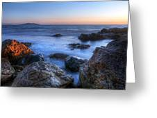 Seaside Rocks Greeting Card