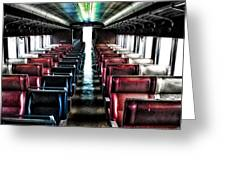 Seats Available Greeting Card