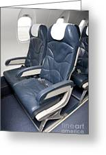 Seats On An Airliner Greeting Card
