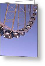 Seattle Ferris Wheel Greeting Card